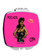 African American Pinup Girl Compact