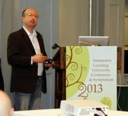 lecturing on developing simulation-based mobile applications at ILU2013