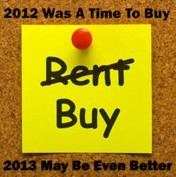 2013 May Be An Even Better Time To Buy
