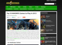 Top 10 mmorpg games 2013