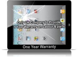 iPad screen Repair - One Year Warranty with Genuine Apple Parts