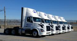 Missouri trucking company FW Trucking took delivery of 7 new Volvo daycab tractors this week