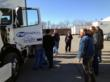 Missouri trucking company FW Trucking took delivery of 7 new Volvo daycab trucks this week