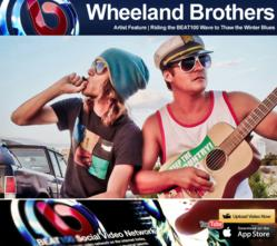 The Wheeland Brothers: Riding the BEAT100 Wave to Thaw the Winter Blues