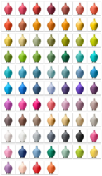 Color + Plus Offers Table Lamps in 60+ Colors
