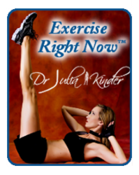 Dr. Julia Kinder's unique Exercise Right Now Fitness Program - Fitness Cards, Fitness Consultations (Fitness Coaching), Fitness Presentations, plus more. No other online exercise program is so easy to implement.