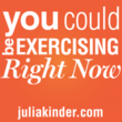 Exercise Right Now&amp;trade; Reminders are a great way to motivate yourself to exercise and get fit.