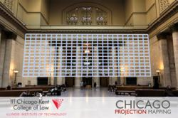 Projection Mapping Overlay & Union Station Visual Reference for Chicago Projection Mapping