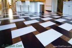 Yes, this is a 100% cork tile floor from Globus Cork
