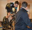 Young American star Joe Dombrowski gets Retül'd.