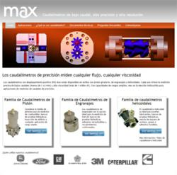 Max Machinery launches new flow meter website in Mexico