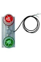 Explosion Proof LED Traffic Light - Red and Green Stop and Go Light