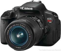 Canon EOS Rebel T4i preview