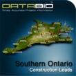 DataBid.com Construction Leads of Southern Ontario is Currently...