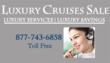 LuxuryCruisesSale.com, the Online cruise Sale Division of Bon Voyage...