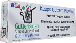 GutterBrush Simple Gutter Guard
