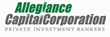 Allegiance Capital Corporation Facilitates Investment in Risk...