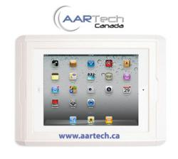 iPad Charging Wall Dock distributed by Aartech Canada