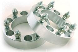 Custom made wheel spacers
