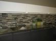 Exclusive Back splashes made of Recucled Granite.