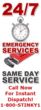 24-7 Emergency Plumber Services
