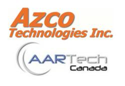 Aartech Canada now distributing Azco Technologies products.