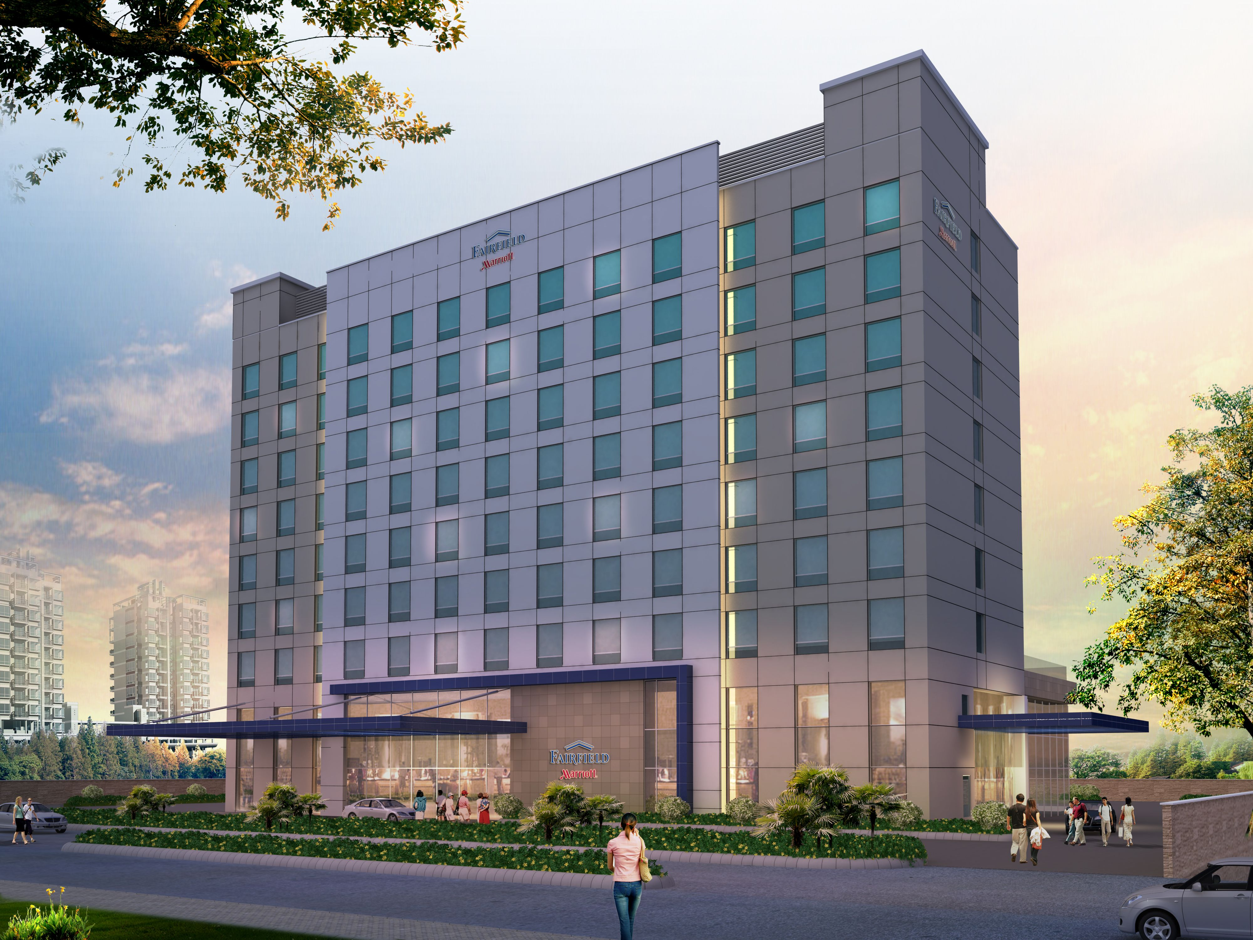 Jhm Hotels India Marriott International Executes Franchise Agreement To Develop Fairfield By In