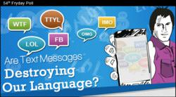 New Infographic - Text Messages & Language