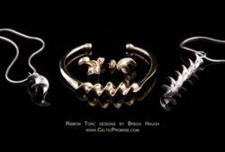 Ribbon Torc Irish jewelry at CelticPromise.com