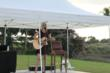 Vivian Grace, Fiddler's Creek resident performs at the Concert on the Green