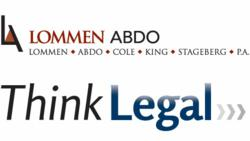 ThinkLegal Logo & Lommen Abdo Logo