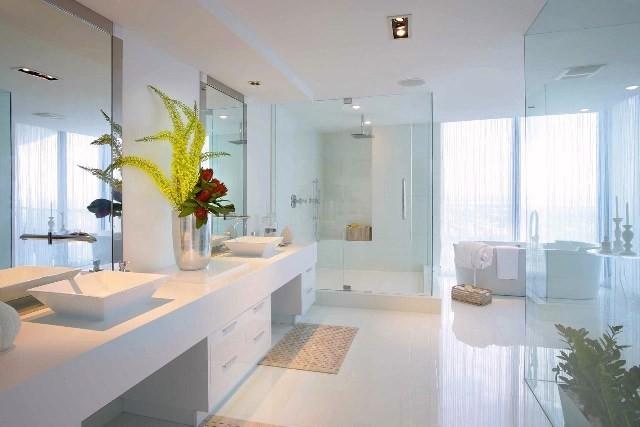 White Glass Bathroom Tiles Glass Mosaic Tile Murals Crystal