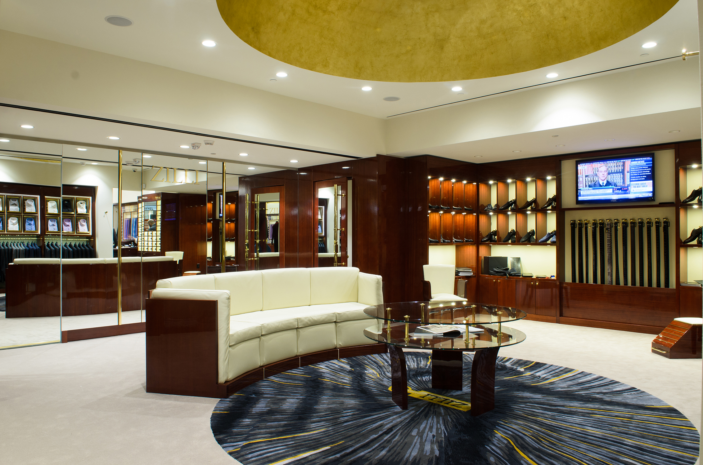 streetsense designs second u s store for luxury men s clothing streetsense designs second u s store for luxury men s clothing atelier zilli