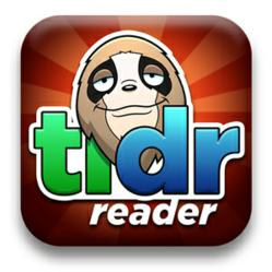 TLDR Reader now for iPhone