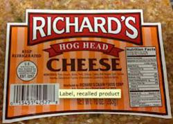 Recalled Cheese