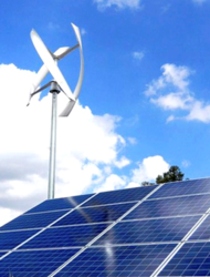UGE wind and solar distributed energy project