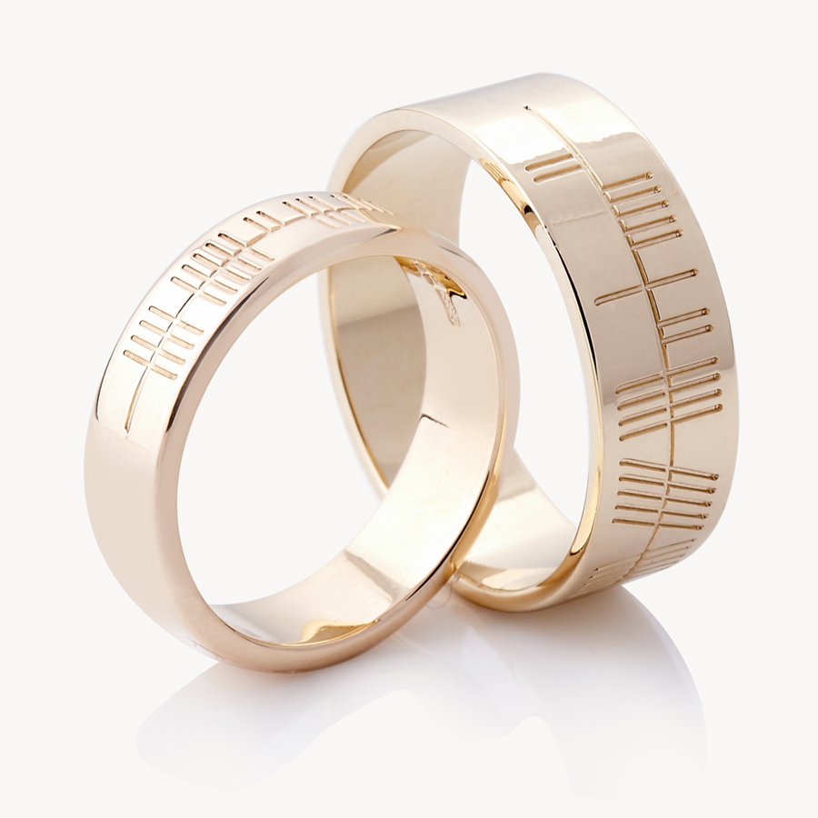 a personal touch to wedding rings announced by