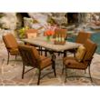 Belden cushion dining set by woodard