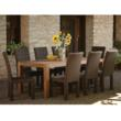 Mesa Wicker dining set by Lloyd Flanders
