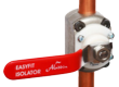 The Emergency Plumber Company and Aladdin Easyfit Isolator Valve