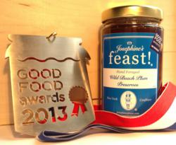 Josephine's Feast! Hand Foraged Wild Beach Plum Preserve - Good Food Awards Winner 2013