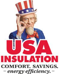 USA Insulation logo