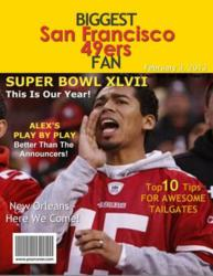 Biggest 49ers Fan Fake Magazine Cover Superbowl Gift from YourCover
