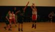 Everest Academy 7th grader Jack Zabilka of Lemont makes jump shot.