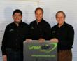 Larry Madrid, Paul White, and Bill Mutz, creators of GreenStar Panels