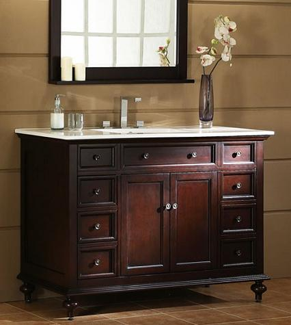 Vintage Bathroom Vanities on Style Guide To Bathroom Vanities  Evolution From Antique To Modern
