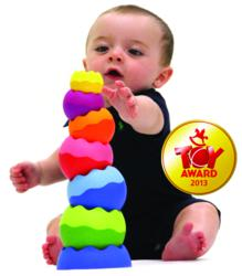Tobbles Neo From Fat Brain Toy Co Wins Baby and Infant Toy of the Year at International Toy Fair