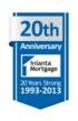Inlanta Mortgage Celebrates 20 Years