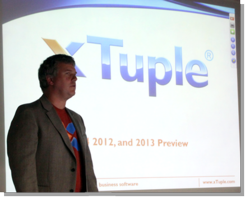 xTuple CEO Ned Lilly, 2012-Q4 Meeting