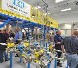 Endress+Hauser Process Training Unit